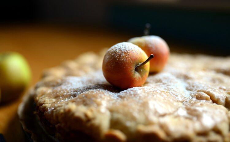 Γρήγορη και μοσχομυριστή μηλόπιτα