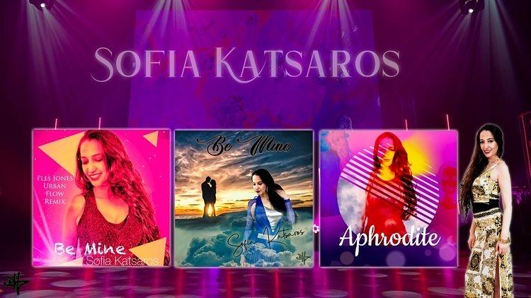 """Sofia Katsaros – Το τραγόυδι της """"Aphrodite"""" ζωντανά στην εκπομπή της Τατιάνας Στεφανίδου Tlive στο Alfa Channel."""
