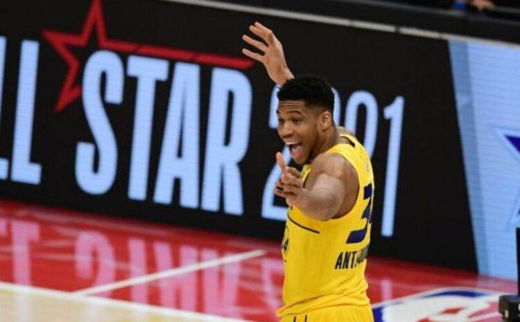 ΝΒΑ all star game: MVP ο Γιάννης Αντετοκούνμπο, νίκησε και η Team LeBron