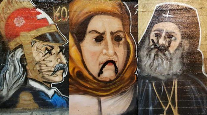Βεβήλωσαν τον τοίχο των Ηρώων 1821: Τι απάντησαν Εύρυτος, Δήμαρχος. Χαμός